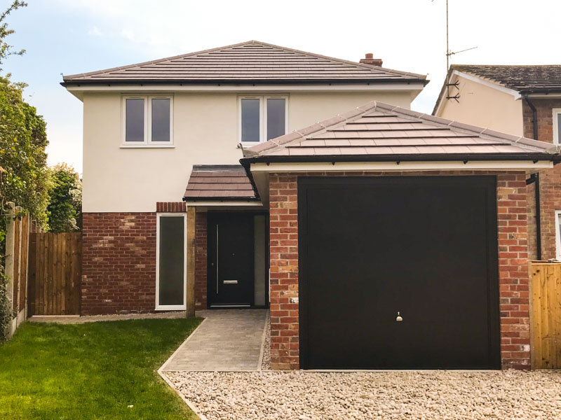 Four-bedroom detached new build, Kelvedon