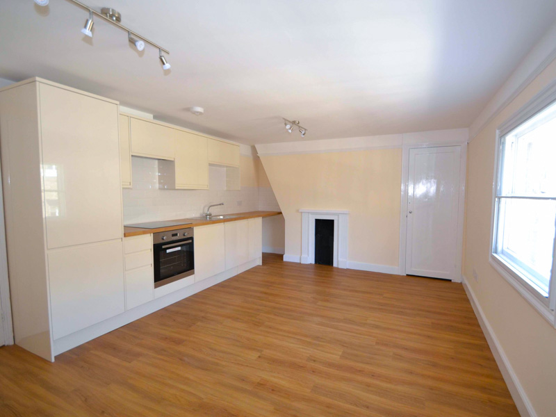 Listed building converted to two one-bedroom apartments, Ipswich
