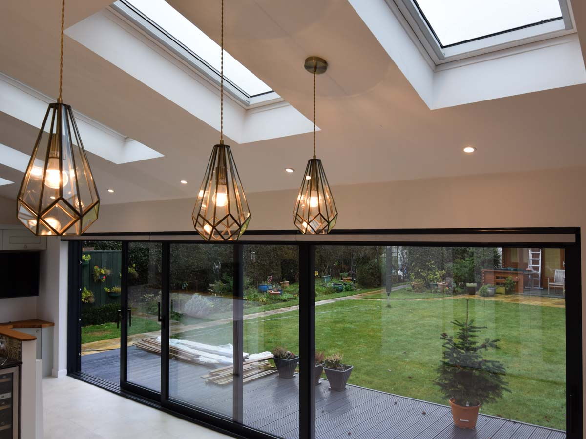 Kitchen and living room extensions, West Mersea