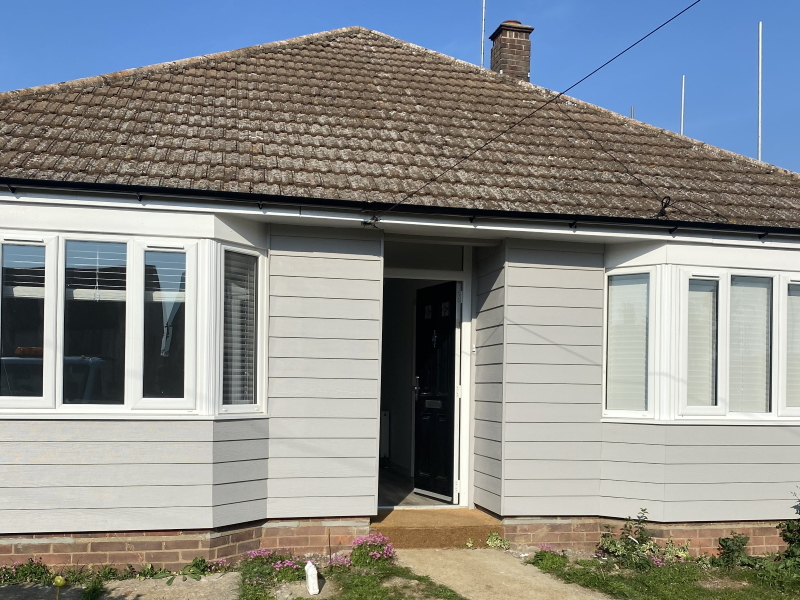 Refurbishing a sinking bungalow, Bergholt Road, Colchester