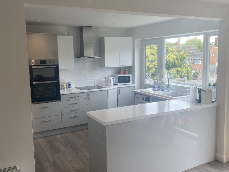 Joining a kitchen and dining area, Coggeshall